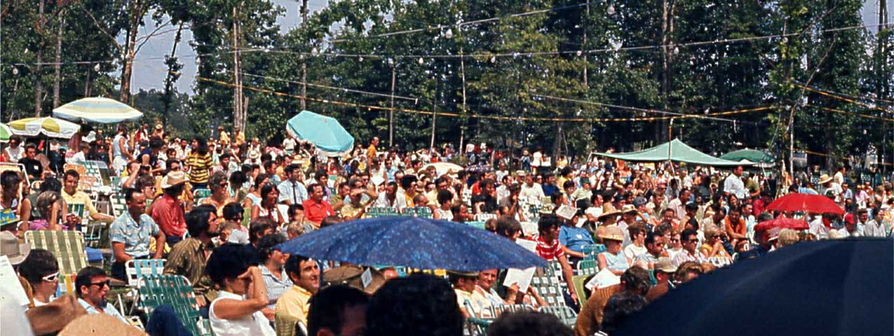 View of Audience from near stage