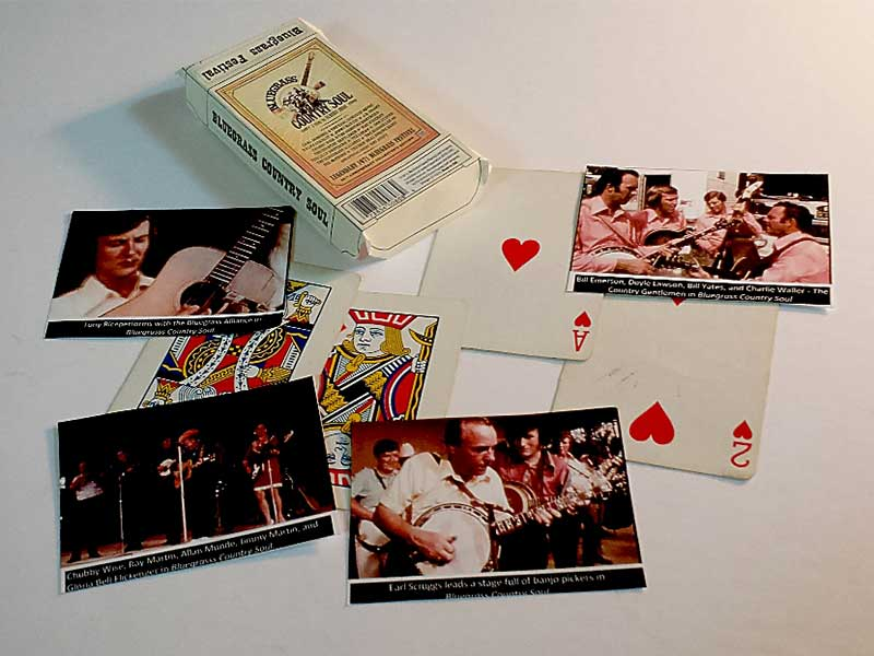 Bluegrass country soul deck of cards